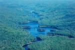 Un paysage vue des airs